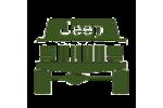 Дефлекторы капота на марку Jeep