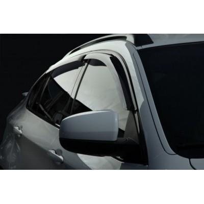 Дефлекторы окон Renault Megane II 2002-2008 Sedan/ветровики накладные