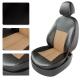 Авточехлы FORD S-MAX 2006-2011 чёрный/бежевый