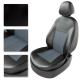 Авточехлы LADA GRANTA 2013 Sedan чёрный/серый